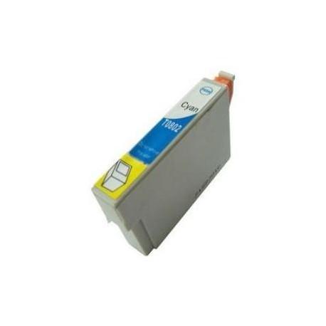 Cartucho  De Tinta Compatible EPSON T0802 cian C13T08024010