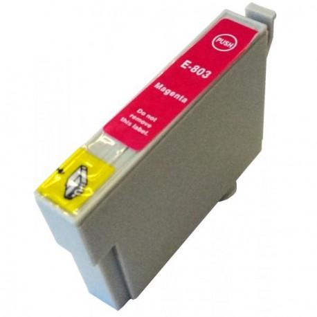 Cartucho  De Tinta Compatible EPSON T0803 magenta C13T08034010