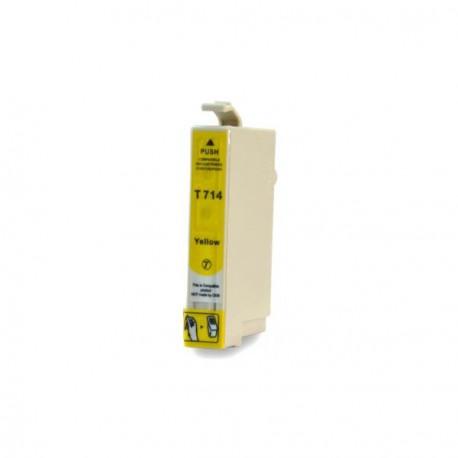 Cartucho  De Tinta Compatible EPSON T0714 amarillo C13T07144011
