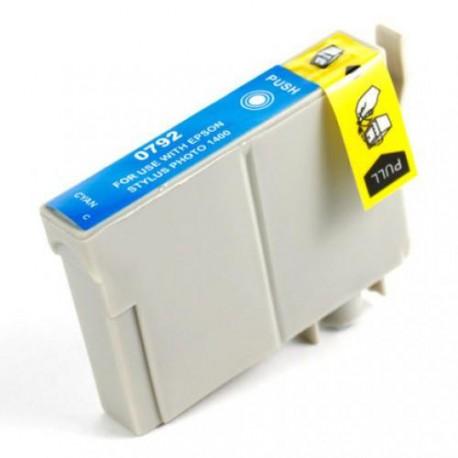 Cartucho  De Tinta Compatible EPSON T0792 cian C13T07924010