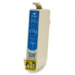 Cartucho  De Tinta Compatible EPSON T0712 cian C13T07124011