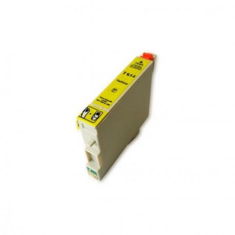 Cartucho  De Tinta Compatible EPSON T0614 amarillo C13T06144010