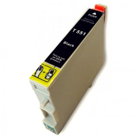 Cartucho De Tinta Compatible EPSON T0551 negro C13T05514010