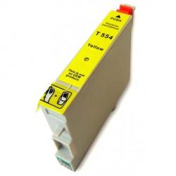 Cartucho De Tinta Compatible EPSON T0554 amarillo C13T05544010