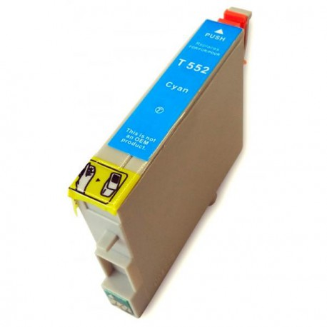 Cartucho  De Tinta Compatible EPSON T0552 cian C13T05524010