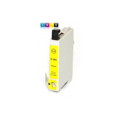 Cartucho  De Tinta Compatible EPSON T0484 amarillo C13T04844010