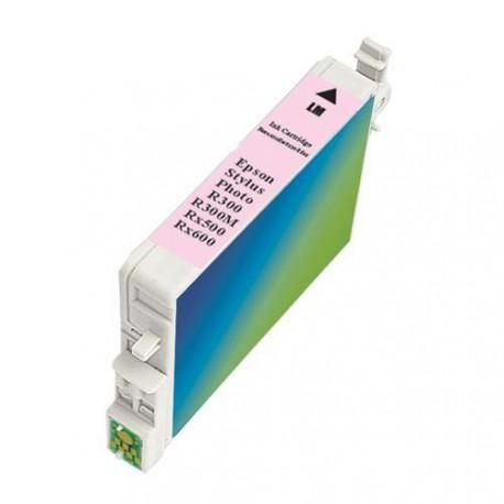 Cartucho  De Tinta Compatible EPSON T0486 magenta claro C13T04864010