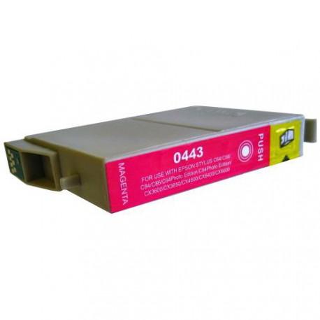 Cartucho  De Tinta Compatible EPSON T0443 magenta C13T04434010