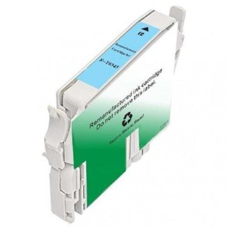 Cartucho  De Tinta Compatible EPSON T0345 cian claro C13T03454010