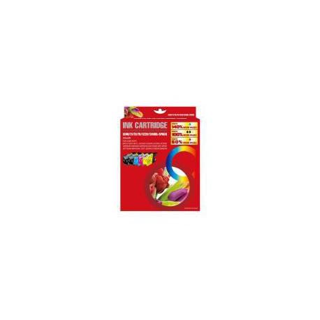 Pack de 5 Cartucho  De Tinta Compatible BROTHER LC-1240 4 colores LC1240BK, LC1240M, LC1240C y LC1240Y
