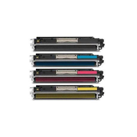 Pack de 4 Toner Compatible HP 126A 4 colores CE310A, CE311A, CE312A y CE313A