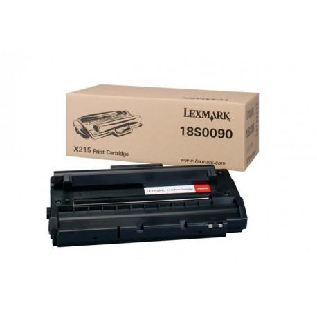 Toner Compatible LEXMARK X215 negro 18S0090