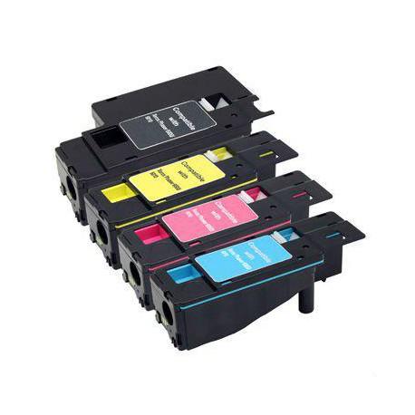 Pack de 4 Toner Compatible XEROX 6000 4 colores 106R01630, 106R01629, 106R01628 y 106R01627
