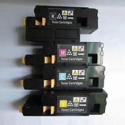 Pack de 4 Cartucho  De Tinta Compatible DELL 1250 4 colores 593-11140, 593-11141, 593-11142 y 593-11143