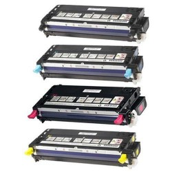 Pack de 4 Cartucho  De Tinta Compatible DELL 3110 4 colores 593-10170, 593-10171, 593-10172y 593-10173