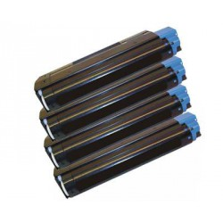 Pack de 4 Toner Compatible OKI C5100 4 colores 2127408, 2127407, 2127406 y 2127405