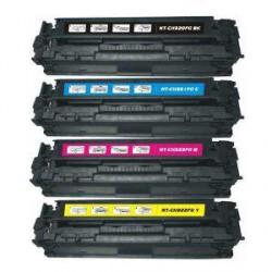 Pack de 4 Toner Compatible HP 128A 4 colores CE320A, CE321A, CE322A y CE323A