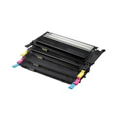 Pack de 4 Toner Compatible SAMSUNG CLP320 4 colores CLT-K4072S, CLT-M4072S, CLT-Y4072S yCLT-C4072S