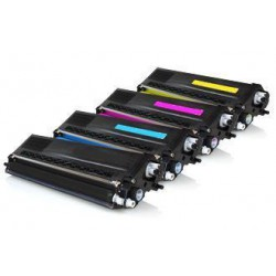 Pack de 4 Toner Compatible BROTHER TN320 4 colores TN-325BK, TN-325C, TN-325M y TN-325Y