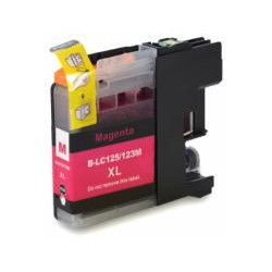 Cartucho  De Tinta Compatible BROTHER LC-123 magenta LC123M