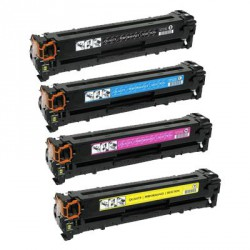 Pack de 4 Toner Compatible CANON 731 4 colores 6273B002, 6271B002, 6269B002 y6270B002