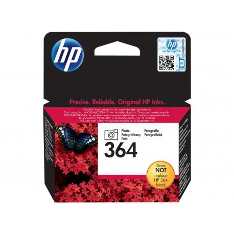 Cartucho De Tinta Original HP HP 364 negro foto CB317EE