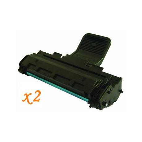Pack de 2 Toner Compatible SAMSUNG ML1610 negro MLT-D119S