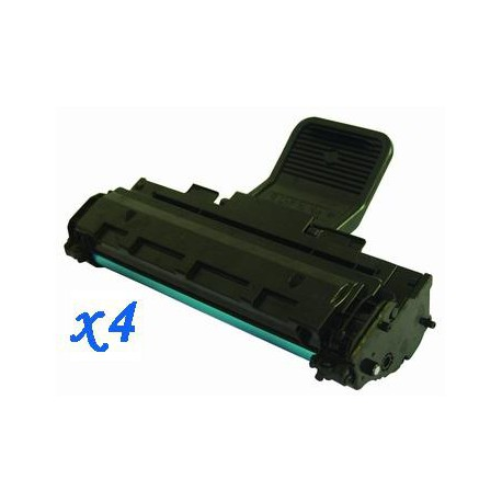 Pack de 4 Toner Compatible SAMSUNG ML1610 negro MLT-D119S