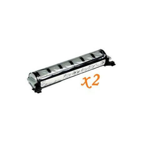 Pack de 2 Toner Compatible PANASONIC FAT411 negro KX-FAT411X