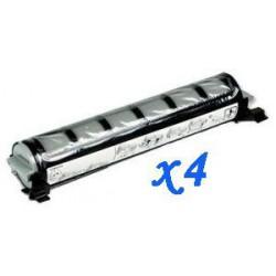 Pack de 4 Toner Compatible PANASONIC FAT411 negro KX-FAT411X