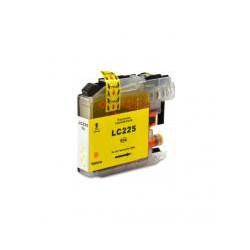 Cartucho  De Tinta Compatible BROTHER LC225XL amarillo LC225XLY