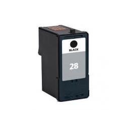 Cartucho  De Tinta Compatible LEXMARK 28 negro 18C1528E