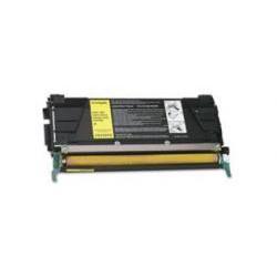 Toner Compatible LEXMARK C734 amarillo C734A1YG