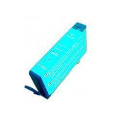 Cartucho  De Tinta Compatible HP 364 cian CB318EE