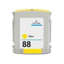 Cartucho  De Tinta Compatible HP 88 amarillo C9388A