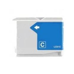 Cartucho  De Tinta Compatible BROTHER LC-1000 cian LC1000C