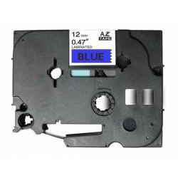 Cinta Compatible BROTHER TZE-531 negro / azul TZ-531