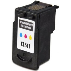 Cartucho De Tinta Compatible CANON CL511 3 colores 2972B001