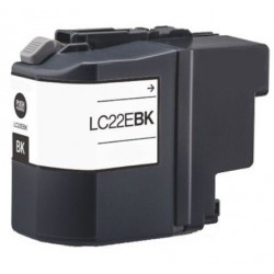 Cartucho  De Tinta Compatible BROTHER LC22E negro LC-22EBK