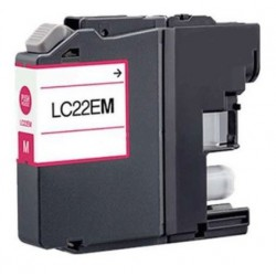 Cartucho  De Tinta Compatible BROTHER LC22E magenta LC-22EM